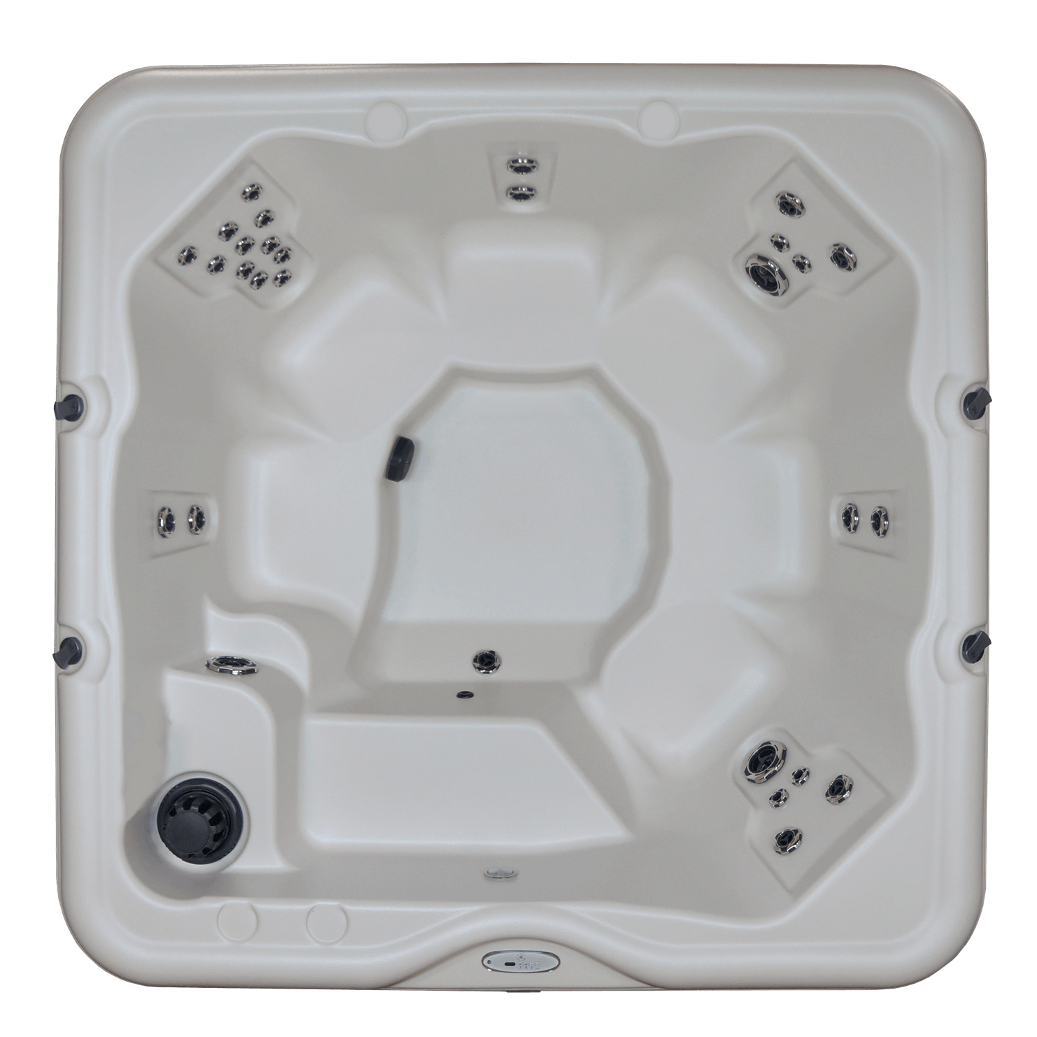 Cove Spas HP4 top view